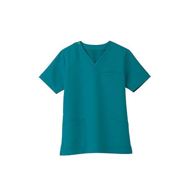 スクラブ 白衣 医療用白衣 白衣 スクラブジャケット 新作 静電 医療 クリニック 制服 ユニフォーム 即日発送可|ap-b|07