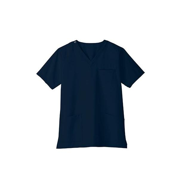 スクラブ 白衣 医療用白衣 白衣 スクラブジャケット 新作 静電 医療 クリニック 制服 ユニフォーム 即日発送可|ap-b|10