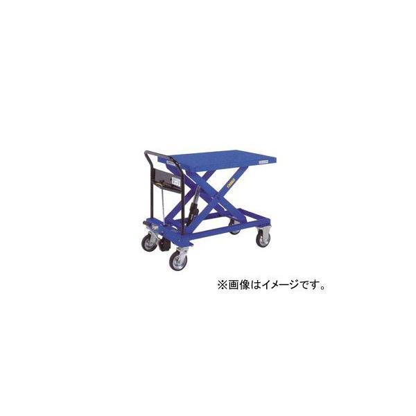 をくだ屋技研/O.P.K 手動式リフトテーブルキャデ 早揚り装置・急降下防止バルブ付 LT-H550-9L