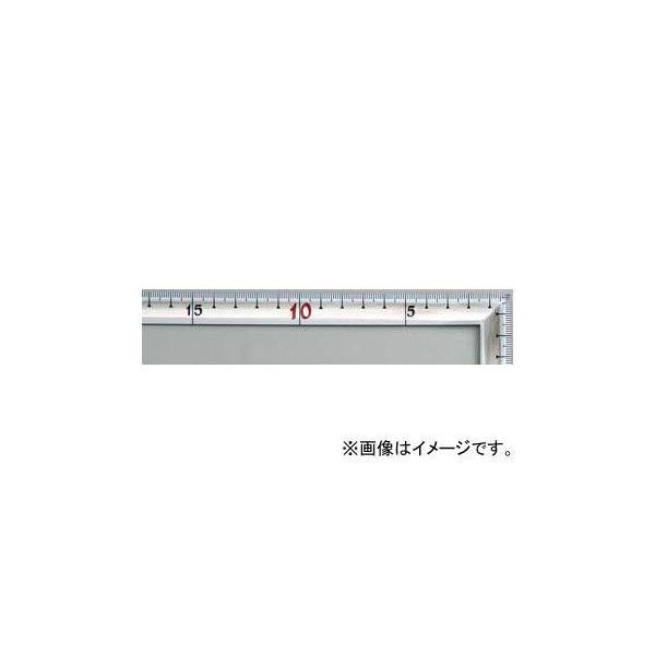 シンワ測定 曲尺高級角厚 シルバー 50cm 裏面角目 匠甚五郎 JIS 10839 JAN:4960910108394
