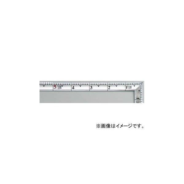 シンワ測定 曲尺高級角厚 シルバー 1尺5寸 裏面角目 匠甚五郎 10847 JAN:4960910108479
