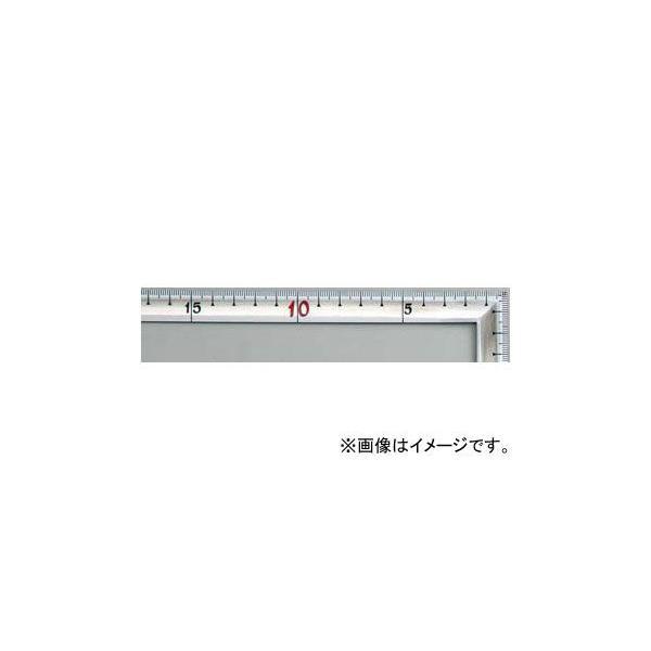 シンワ測定 曲尺高級角厚 シルバー 50cm 裏面角目 匠甚五郎しなやか JIS 10876 JAN:4960910108769