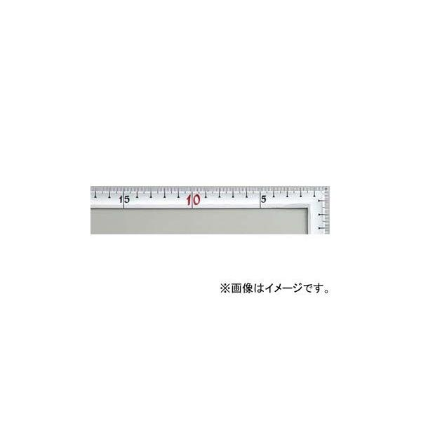 シンワ測定 曲尺高級角薄 シルバー 50cm 裏面角目 匠甚五郎 JIS 10837 JAN:4960910108370