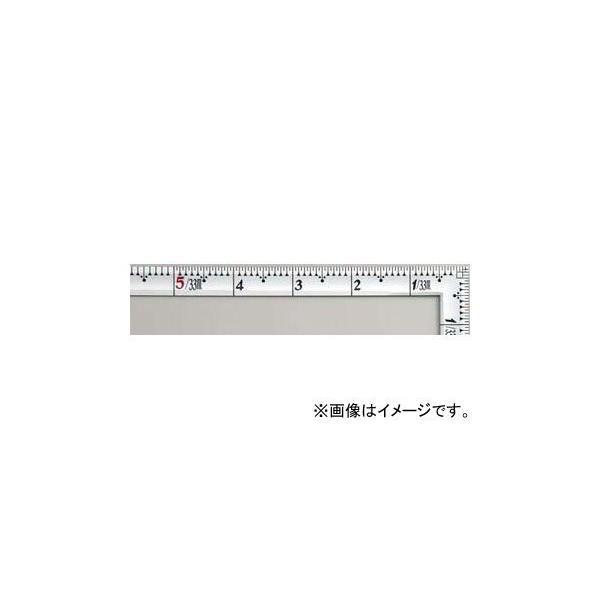 シンワ測定 曲尺高級角薄 シルバー 1尺5寸 裏面角目 匠甚五郎 10845 JAN:4960910108455