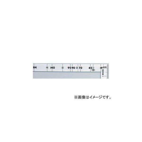 シンワ測定 曲尺ツーバイフォー シルバー 2×4/50cm 併用目盛 19mm巾 10055 JAN:4960910100558