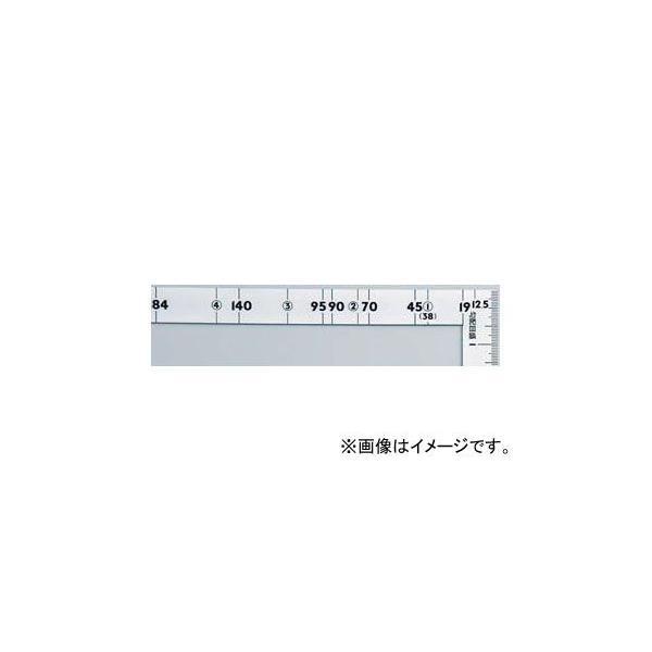 シンワ測定 曲尺ツーバイフォー シルバー 2×4/1尺5寸 併用目盛19mm巾 10056 JAN:4960910100565