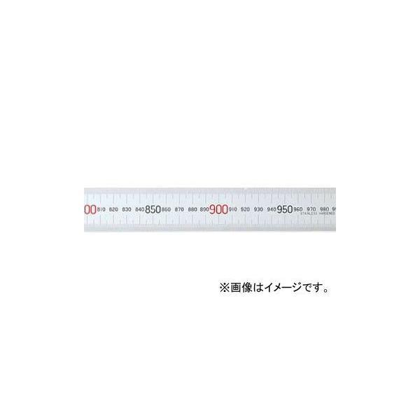 シンワ測定 マグネチックスケール シルバー 1m 赤数字入 マグネット付JIS 13544 JAN:4960910135444