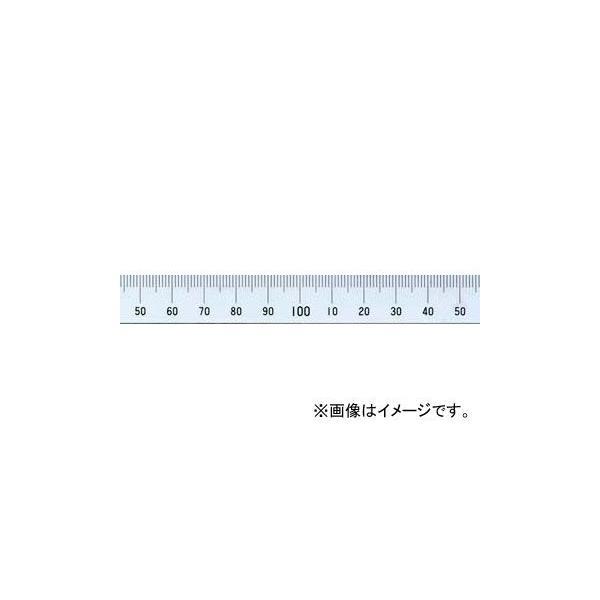 シンワ測定 マシンスケール 150mm 上段左基点目盛 穴なし 14129