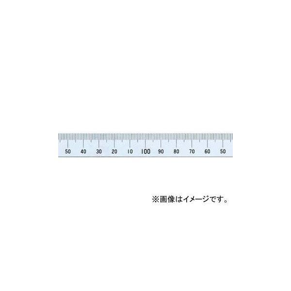シンワ測定 マシンスケール 100mm 上段右基点目盛 穴なし 14135