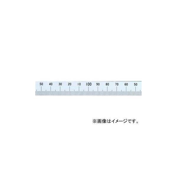 シンワ測定 マシンスケール 100mm 下段右基点目盛 穴なし 14154