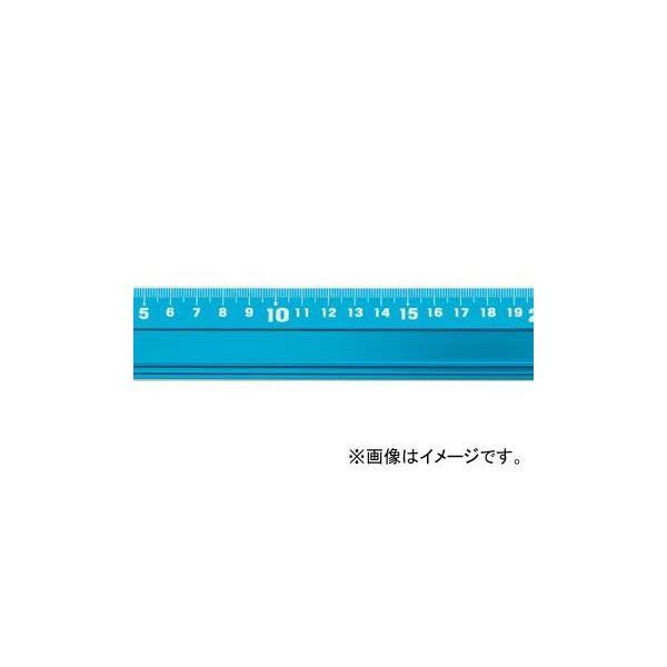 シンワ測定 アルミ直尺 アル助 30cm シャイニングブルー 65415 JAN:4960910654150