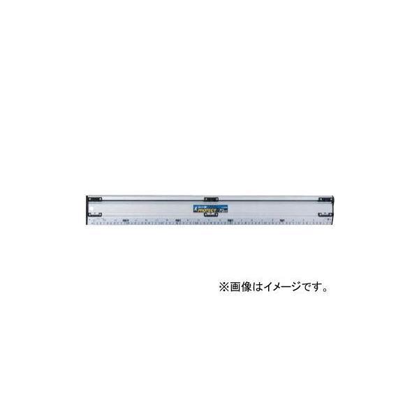 シンワ測定 アルミカッター定規 カット師PROTECT 70cm 併用目盛 65065 JAN:4960910650657