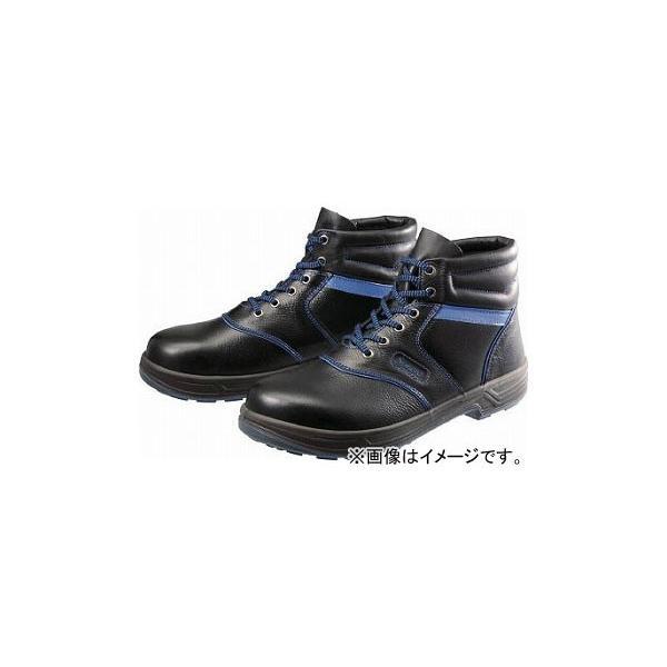 シモン 安全靴 編上靴 SL22-BL 黒/ブルー 24.0cm SL22BL-24.0(4351371)