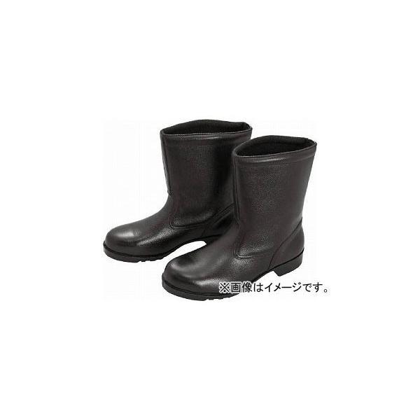 ミドリ安全 ゴム底安全靴 半長靴 V2400N 23.0cm V2400N-23.0(8217955)