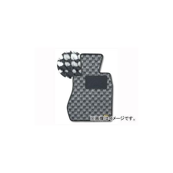 カロ/KAROフロアマットFLAXY品番:1607トヨタマーク2ブリットJZX,GX115W4WDフットレスト:有オルガン式アク
