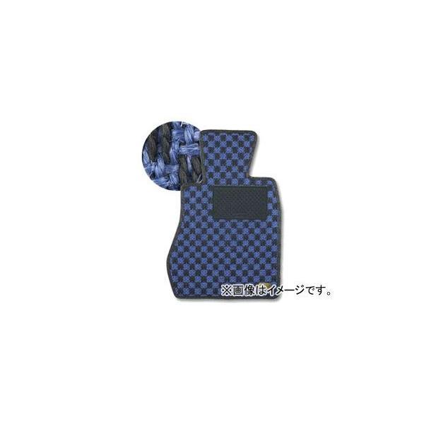 カロ/KAROフロアマットSISAL品番:1607トヨタマーク2ブリットJZX,GX115W4WDフットレスト:有オルガン式アク