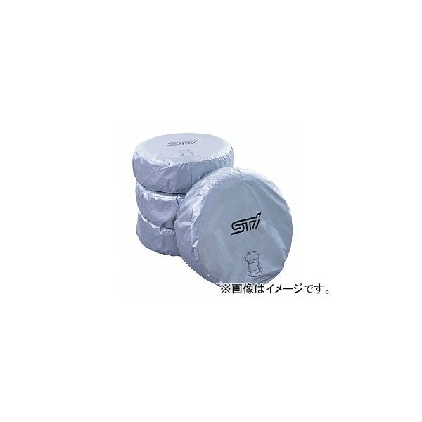 STI マーカー付きタイヤカバー(セット) 選べる2サイズ 入数:4枚セット