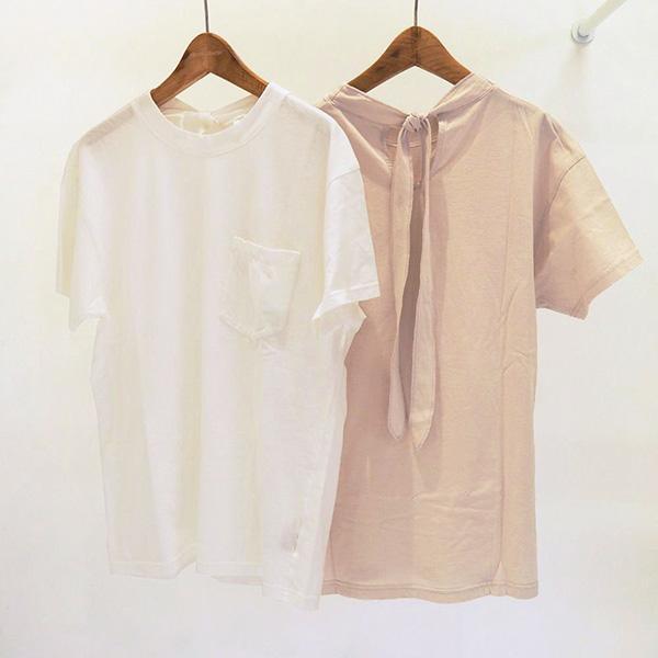SALE 20%OFF トゥデイフル TODAYFUL レディース Neck Tie T-shirts ネック タイ Tシャツ 12010626  (全2色) 2020春夏 新作:ネコポス対応 apakabar-style 05