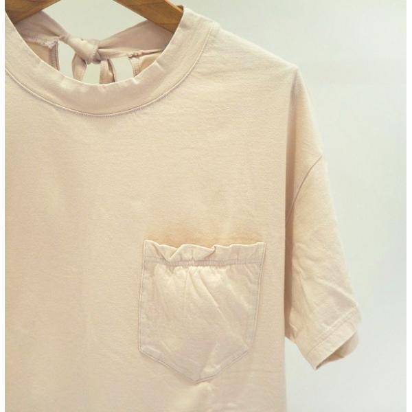 SALE 20%OFF トゥデイフル TODAYFUL レディース Neck Tie T-shirts ネック タイ Tシャツ 12010626  (全2色) 2020春夏 新作:ネコポス対応 apakabar-style 06