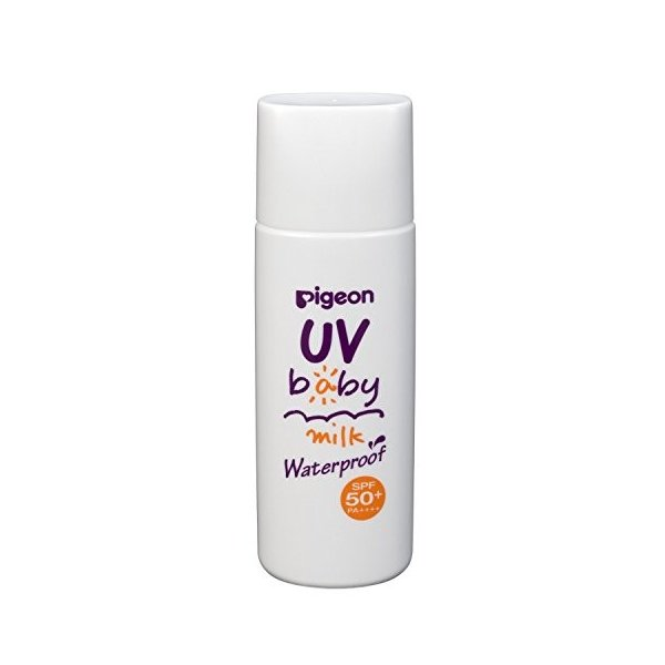 ピジョン UVベビーミルク ウォータープルーフ SPF50+ 50g|aparagiya|03