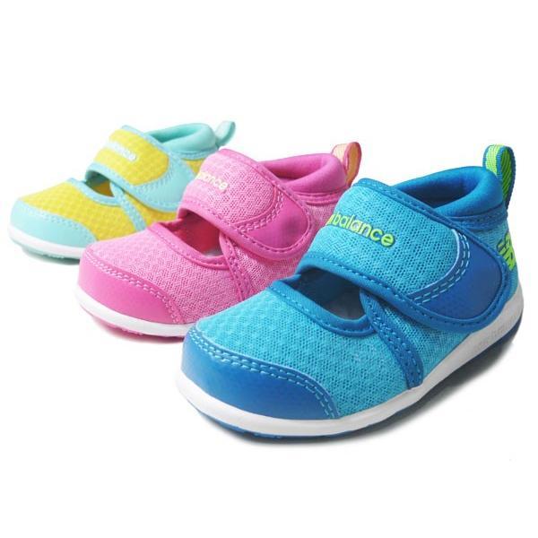 newbalance IO508 BLU ブルー PNK ピンク LMN レモン(イエロー) ニューバランス ベビーサンダル ベビーシューズ ベビー靴 靴 シューズ セール