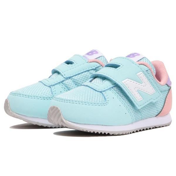 newbalance IV220 LB2 LIGHT BLUE/PINK ライトブルーピンク ニューバランス ベビー・キッズ 運動靴 子供靴 スニーカー 靴
