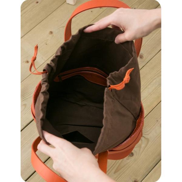 チーバ トートバッグ ヌメ革巾着 CI-VA 2084VOLA