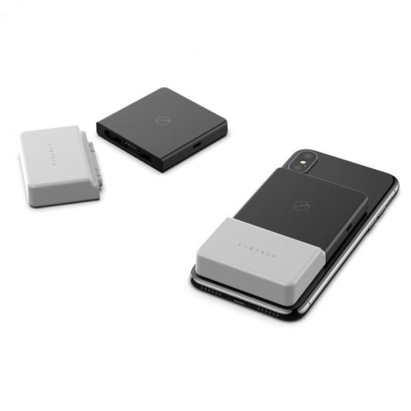 BricksPower  スマホに吸い付くQi対応モバイルバッテリー 3000mAh グレー(5月31日入荷予定) appbankstore