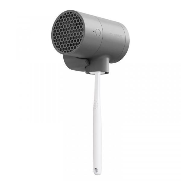 CLEAND 歯ブラシ除菌 乾燥機 T-dryer UV除菌器 深紫外線 コードレス USB Type-C 充電式 壁掛け可能 Grey