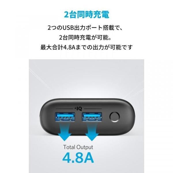 Anker PowerCore 20000 Redux 20000mAh モバイルバッテリー ブラック|appbankstore|04