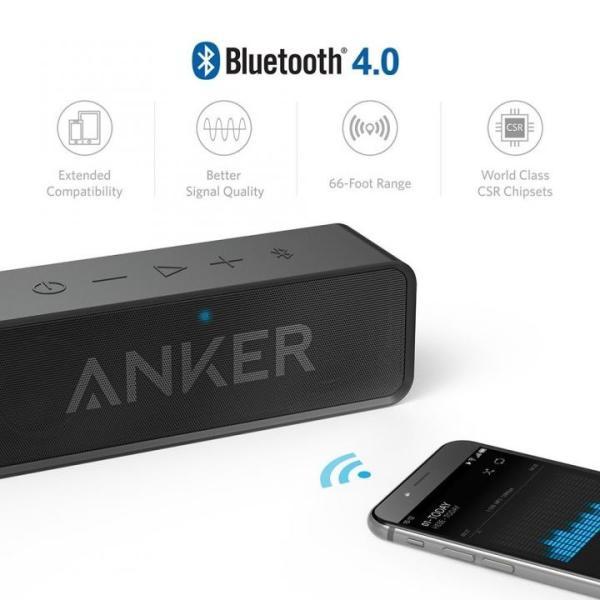 Anker SoundCore Bluetoothスピーカー ポータブル ブラック(6月30日入荷予定)|appbankstore|02