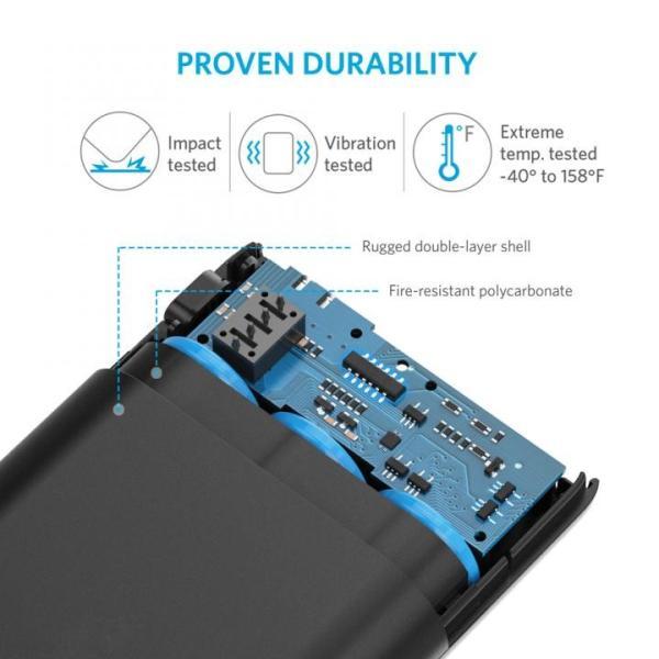 Anker PowerCore 10000mAh コンパクトモバイルバッテリー ブラック|appbankstore|06
