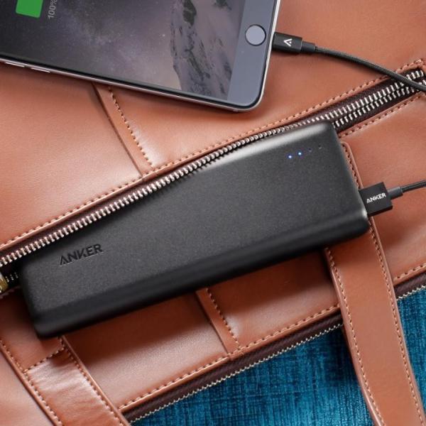 [20100mAh]Anker PowerCore 2ポート4.8A出力 モバイルバッテリー ブラック appbankstore 05