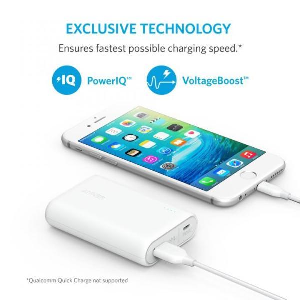 [10000mAh]Anker PowerCore 10000 コンパクトモバイルバッテリー ホワイト|appbankstore|04
