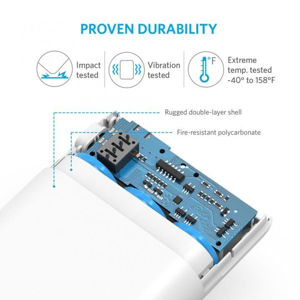 [10000mAh]Anker PowerCore 10000 コンパクトモバイルバッテリー ホワイト|appbankstore|06