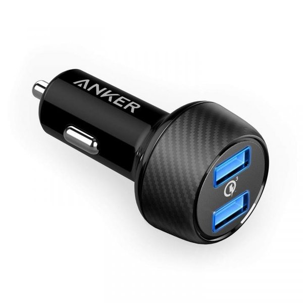 Anker PowerDrive Speed 2 QC3.0対応 2ポート USBカーチャージャー|appbankstore