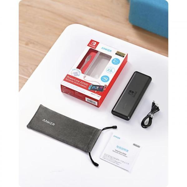 Anker PowerCore 20100 Nintendo Switch Edition A1275511 [20100mAh]ブラック|appbankstore|06