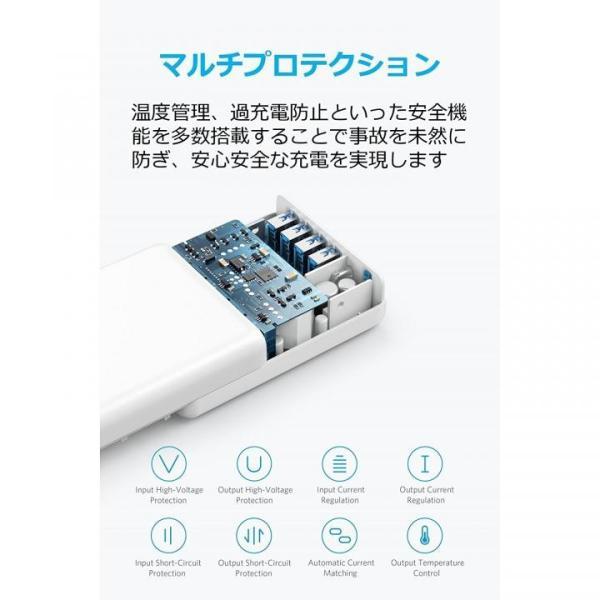 Anker PowerPort I PD - 1ポート PD & 4ポート PowerIQ ホワイト appbankstore 06