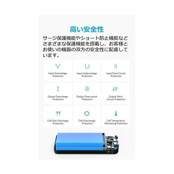 Anker PowerCore Lite 20000 モバイルバッテリー(9月8日入荷予定)|appbankstore|04