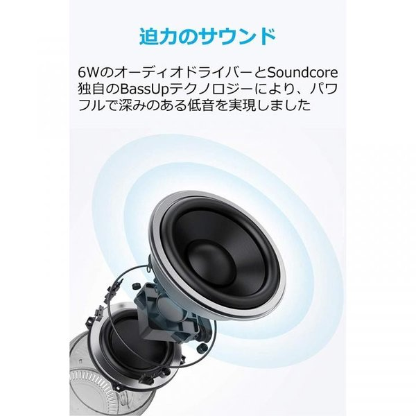 Anker Soundcore Mini 2 防水ワイヤレススピーカー レッド appbankstore 06
