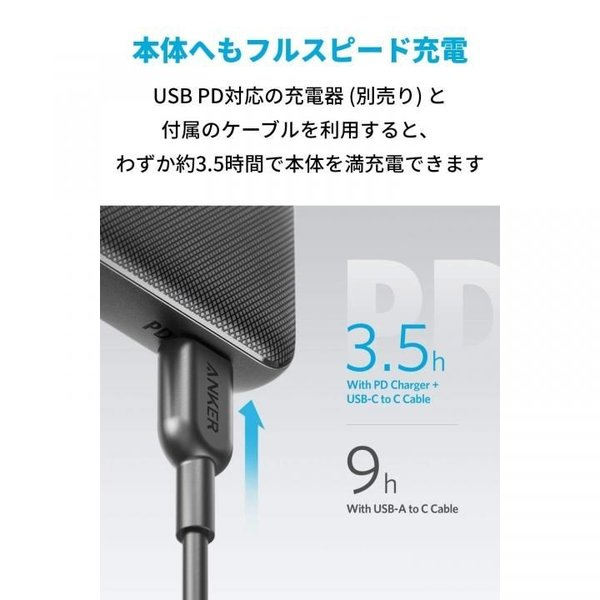 Anker PowerCore Slim 10000 PD(9月17日入荷予定)|appbankstore|04