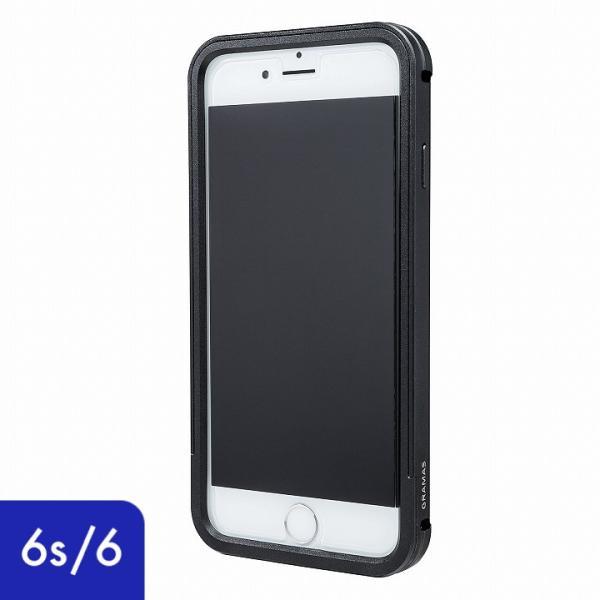 4409b4dc6f iPhone6s ケース iPhone6 ケース GRAMAS フルメタルケース ブラック|appbankstore ...