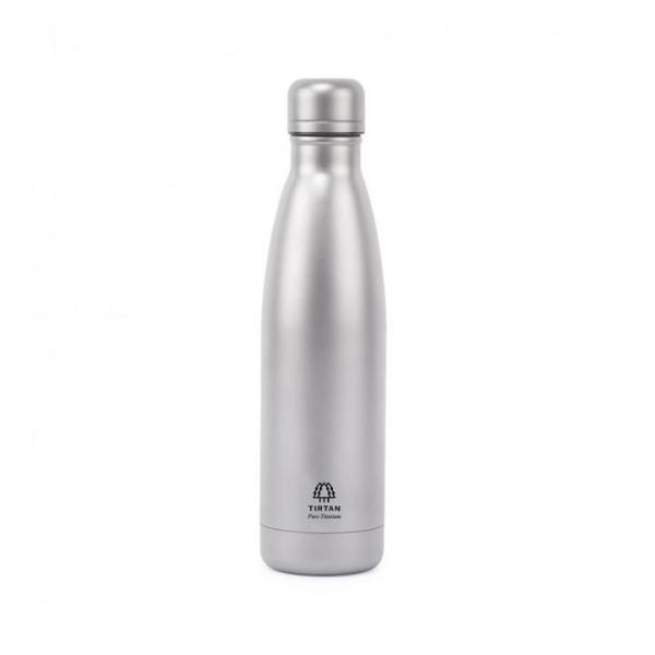 TIRTAN タータン 純チタン製真空ボトル 500ml サンドブラスト