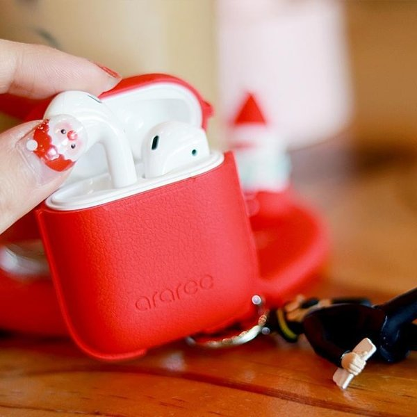 araree AirPods Case POPS White(4月22日入荷予定)