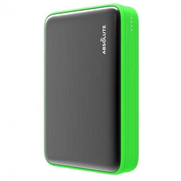 Fast Charge mini 10000 Type-C PD・QC3.0搭載モバイルバッテリー ブラック x グリーン|appbankstore