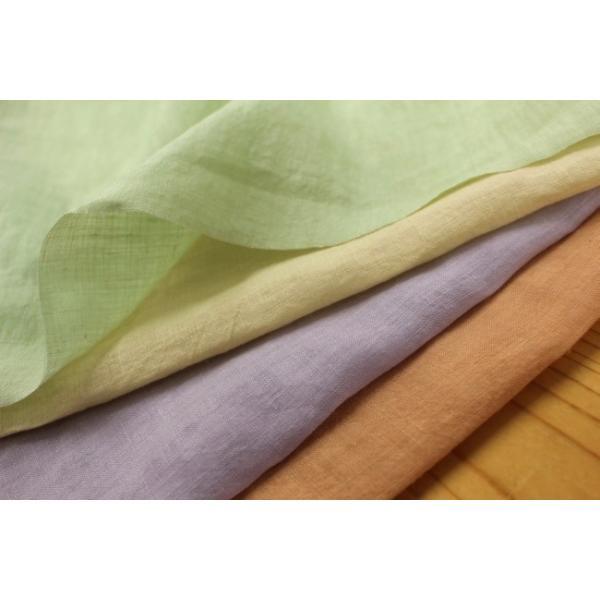 麻生地 60番手 リネン100% 平織り 日本製[10cm単位]【40cmまでメール便OK】6005|applehouse-web