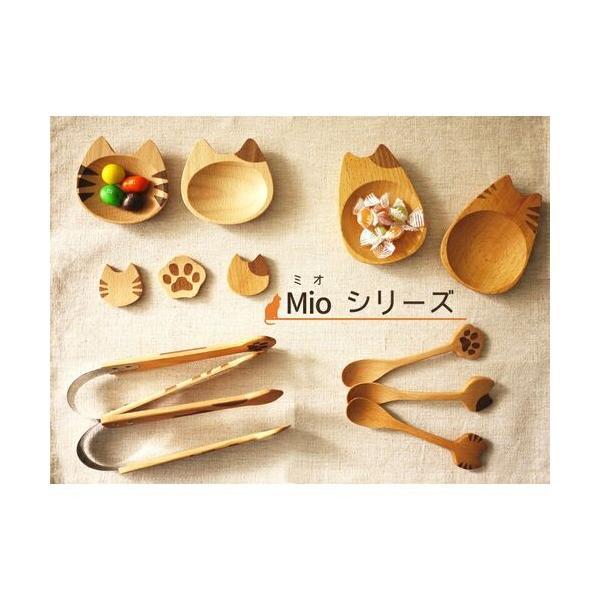 スプーン 木製 猫雑貨 Mioシリーズ インドネシア製 ねこ好き ねこカトラリー キッチンにゃんこ メール便可|applemint-zakka2|04