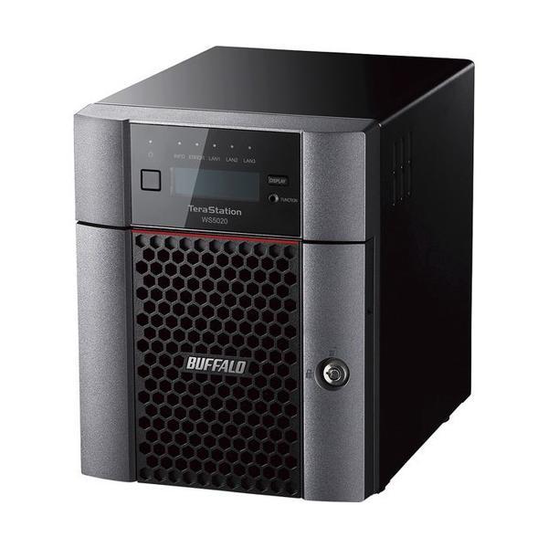 Windows Server IoT 2019 for Storage Standard Edition搭載 4ベイデスクトップNAS 4TB バッファロー WS5420DN04S9
