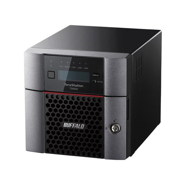 TeraStation TS6000シリーズ [2ベイ/デスクトップ 8TB] バッファロー TS6200DN0802