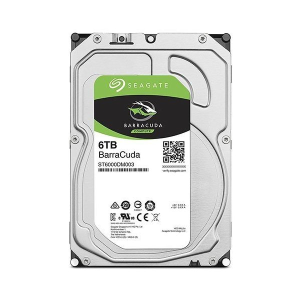 3.5インチ内蔵HDD 6TB SATA600 新品 BarraCuda SEAGATE シーゲイト 内蔵型ハードディスクドライブ 6666 [ST6000DM003]